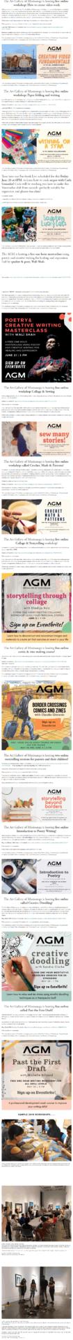 AGM Past Workshops