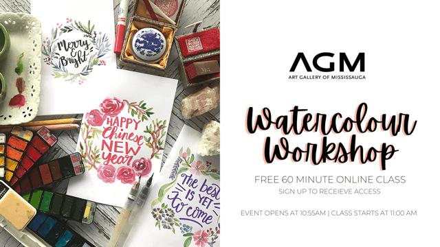 Watercolour workshop AGM