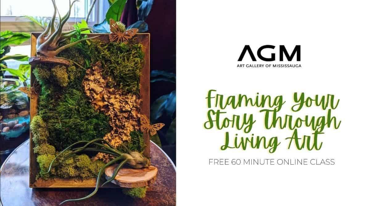framing your story through living art