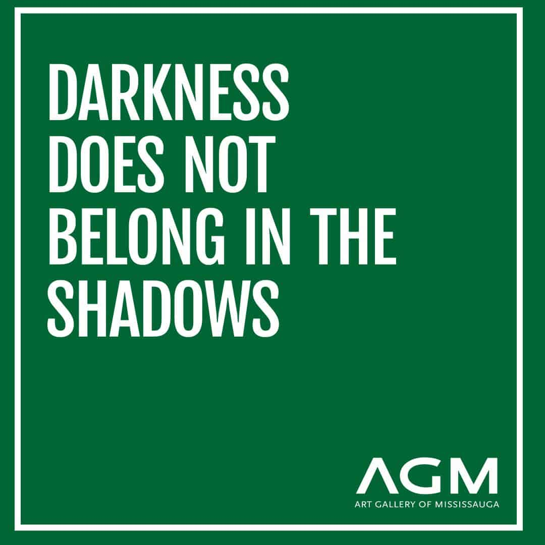 Darkness does not belong in the shadows AGM