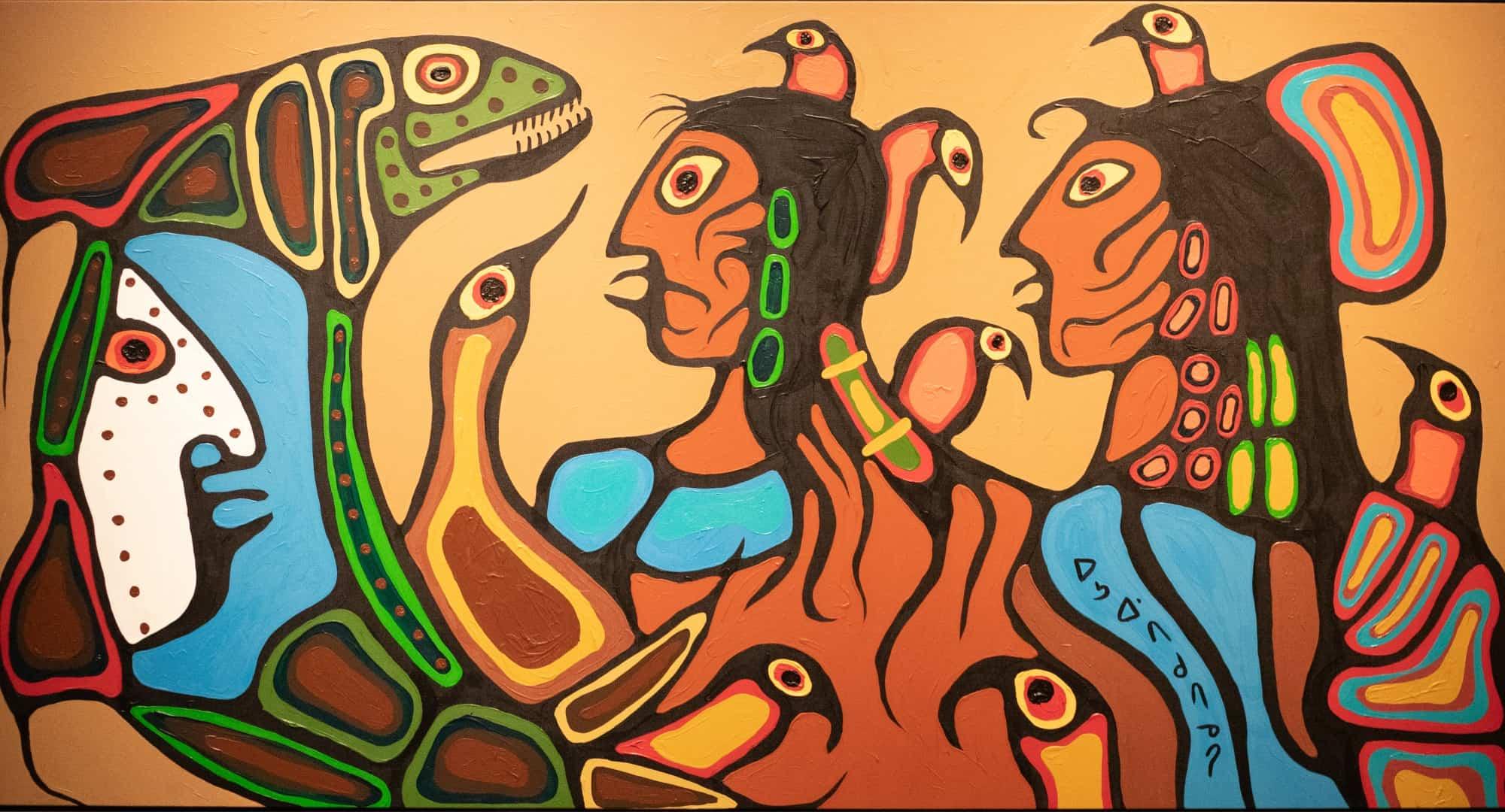 Norval Morrisseau Art